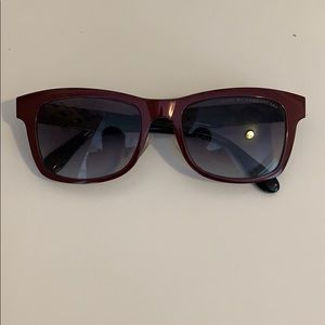 Marc by Marc Jacobs Maroon Sunglasses